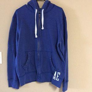AE hoodie XL (blue)
